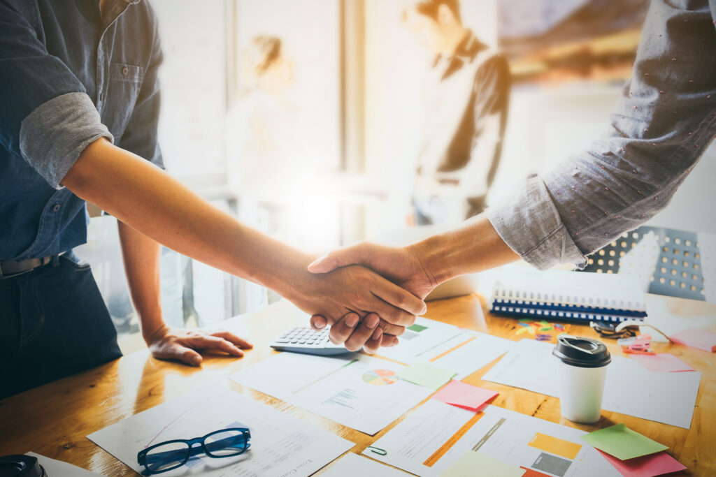 contract with a recruiting agency